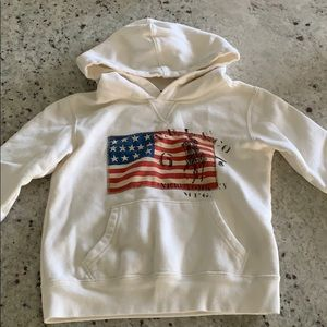 EUC Toddler Polo Hooded Sweatshirt 3T